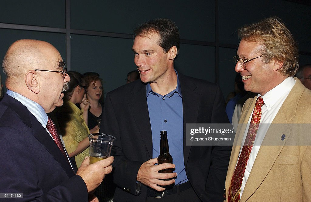 Executive producer Alan Heim Director of Acquisitions for Starz Christopher Black and executive producer Steven B Cohen attend the party following...