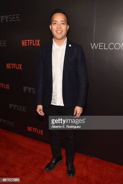 Executive Producer Alan Yang attends the Netflix Comedy Panel For Your Consideration Event at Netflix FYSee Space on May 23 2017 in Beverly Hills...