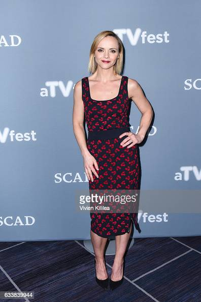 Executive Producer and Actress Christina Ricci attends a press junket for 'Z' on Day Three of the aTVfest 2017 presented by SCAD on February 4 2017...