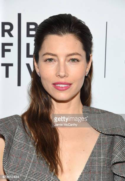 Executive producer and cast member Jessica Biel attends 'The Sinner' Premiere during the 2017 Tribeca Film Festival at SVA Theater on April 25 2017...