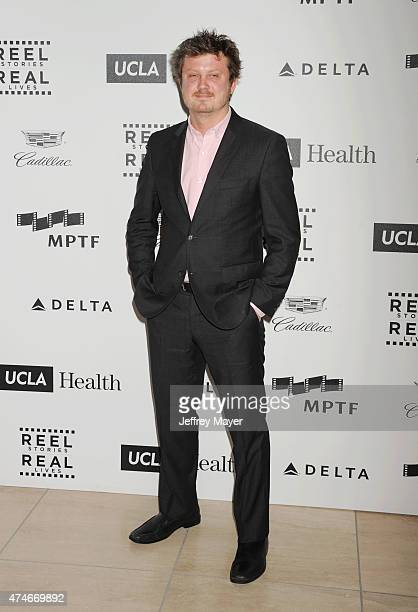 Executive producer and screenwriter Beau Willimon arrives at the 4th Annual Reel Stories Real Lives event benefiting the Motion Picture Television...