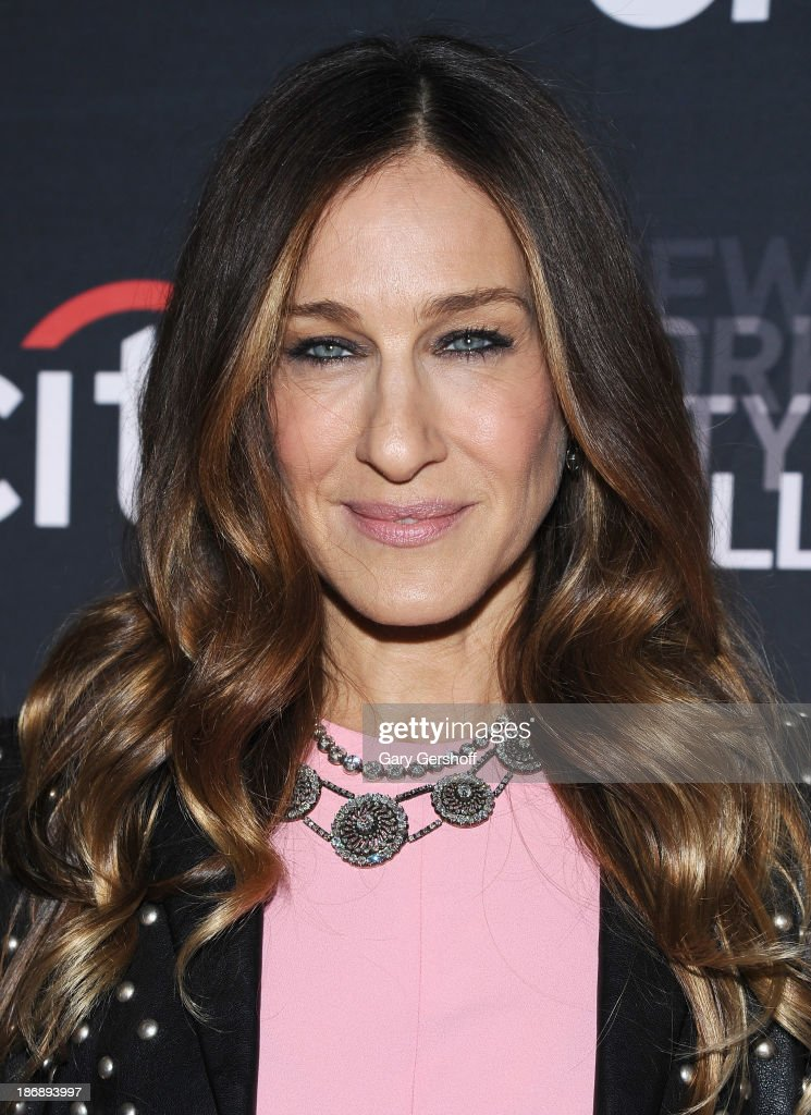 Executive producer and series narrator Sarah Jessica Parker attends the New York series premiere of 'cityballet' at Tribeca Cinemas on November 4...