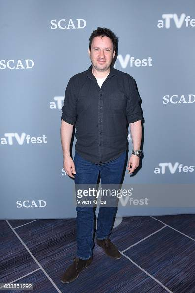 Executive producer and showrunner Alex Cary attends a press junket for 'The Taken' on Day Three of the aTVfest 2017 presented by SCAD on February 4...