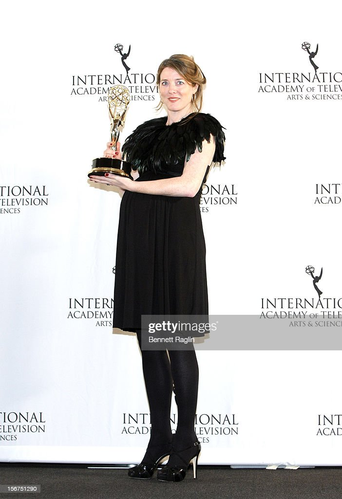 Executive Producer Annabel Jones attends the 40th Annual International Emmy Awards at the Hilton New York on November 19, 2012 in New York City.