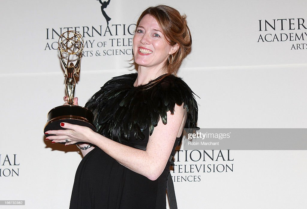 Executive producer Annabel Jones attends the 40th International Emmy Awards on November 19, 2012 in New York City.