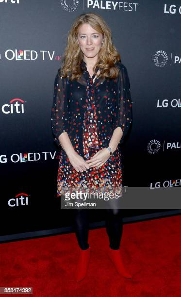 Executive producer Annabel Jones attends the PaleyFest NY 2017 'Black Mirror' screening at The Paley Center for Media on October 6 2017 in New York...