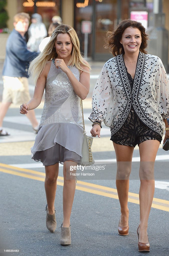 Executive Producer Ashley Tisdale (L) and TV Personality Tanya McQueen attend the season premiere viewing party of Bravo's 'Miss Advised' hosted by Executive Producer Ashley Tisdale held at Planet Dailies & Mixology 101 on June 18, 2012 in Los Angeles, California.