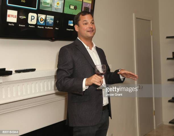 Executive Producer at Evolution John Carr speaks during Lifetime's New Docuseries 'Growing Up Supermodel's' Exclusive LIVE Viewing Party Hosted By...