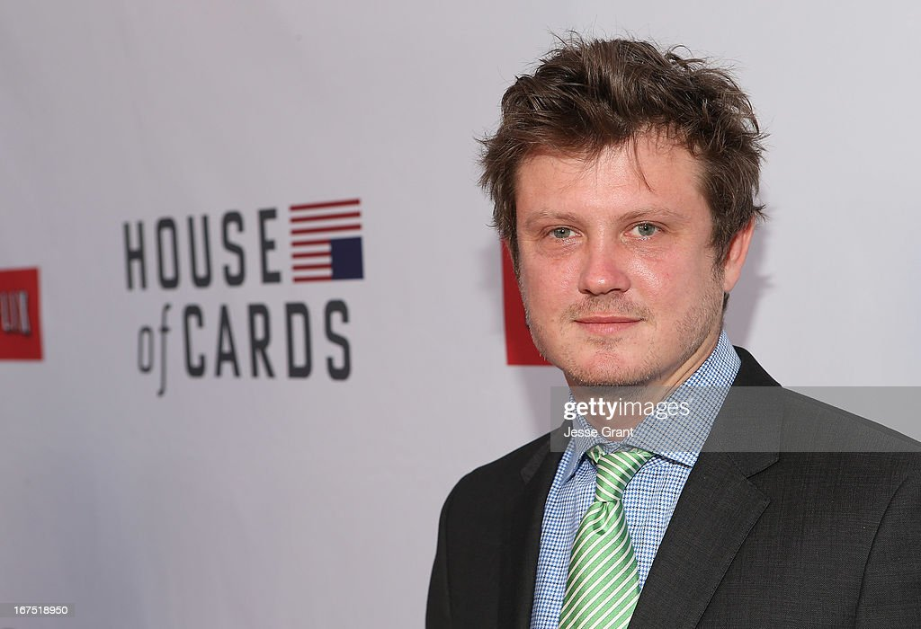 Executive producer <a gi-track='captionPersonalityLinkClicked' href=/galleries/search?phrase=Beau+Willimon&family=editorial&specificpeople=5602661 ng-click='$event.stopPropagation()'>Beau Willimon</a> attends Netflix's 'House of Cards' For Your Consideration Q&A on April 25, 2013 at the Leonard H. Goldenson Theatre in North Hollywood, California.