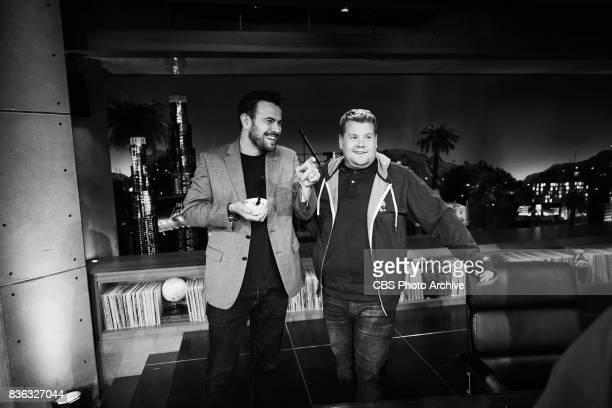 Executive Producer Ben Winston celebrates James Corden's birthday during rehearsals of 'The Late Late Show with James Corden' Thursday August 17 2017...