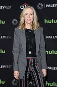 Executive producer Betsy Beers arrives at The Paley Center For Media's 33rd Annual PALEYFEST Los Angeles ÒScandalÓ at Dolby Theatre on March 15 2016...