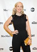 Executive producer Betsy Beers wearing MaxMara attends 'MaxMara Allure Celebrate ABC's #TGIT' at MaxMara on November 14 2015 in Beverly Hills...