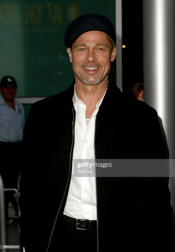 Executive producer Brad Pitt attends the premiere of Amazon Studios' 'The Lost City Of Z' at ArcLight Hollywood on April 5, 2017 in Hollywood, California.