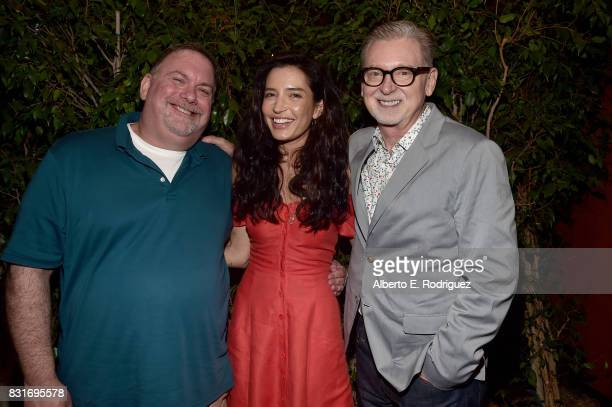 Executive producer Bruce Miller director Reed Morano and executive producer Warren Littlefield attend the after party for the FYC event for Hulu's...