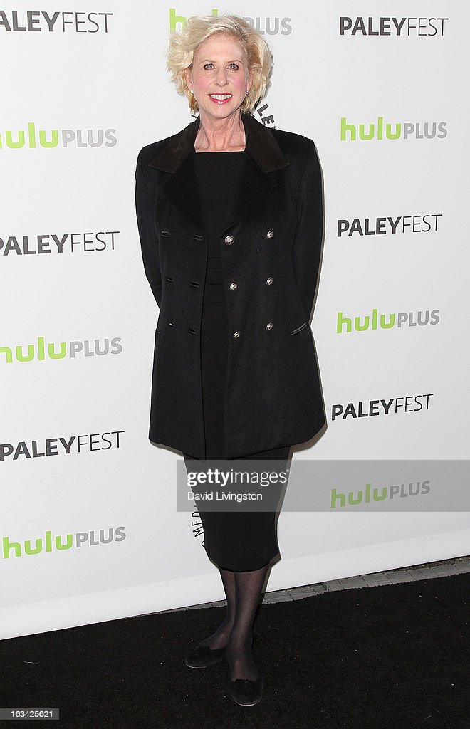 Executive producer Callie Khouri attends The Paley Center For Media's PaleyFest 2013 honoring 'Nashville' at the Saban Theatre on March 9, 2013 in Beverly Hills, California.