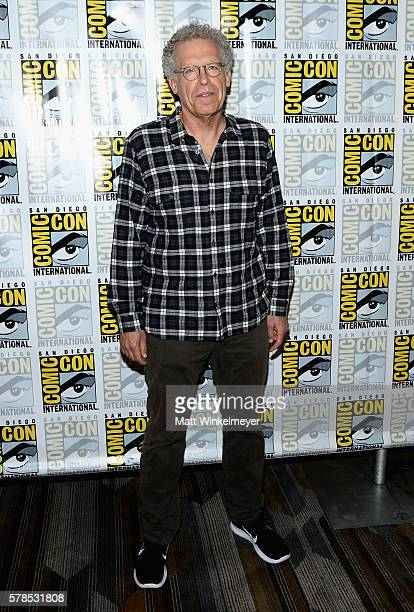 Executive producer Carlton Cuse attends FX's 'The Strain' press line during ComicCon International 2016 at Hilton Bayfront on July 21 2016 in San...