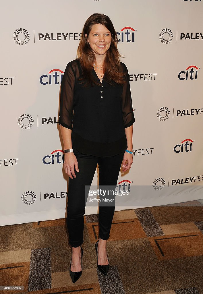 Executive producer Caroline Dries attends the 2014 PaleyFest - 'The Vampire Diaries' & 'The Originals' held at Dolby Theatre on March 21, 2014 in Hollywood, California.