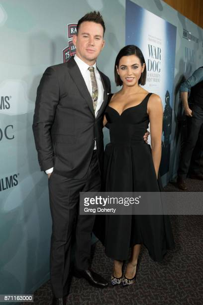 Executive Producer Channing Tatum and wife Jenna Dewan Tatum attend the HBO And Army Ranger Lead The Way Fun Present The Premiere Of 'War Dog A...