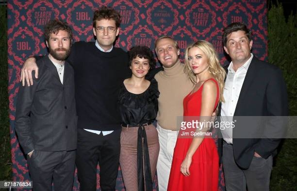 Executive producer Charles Rogers actors John Reynolds Alia Shawkat John Early Meredith Hagner and executive producer Michael Showalter attend the...