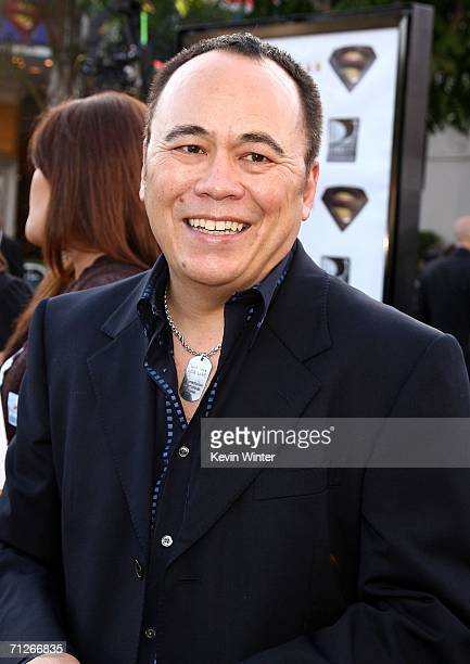 Executive Producer Chris Lee arrives at the Warner Bros Barry Meyer premiere of 'Superman Returns' held at the Mann Village Theater on June 21 2006...