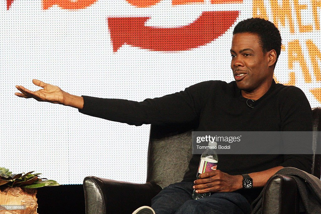Executive producer Chris Rock of the television show 'Totally Biased with W. Kamau Bell' attends the TCA 2013 Winter Press Tour - FX panels held at The Langham Huntington Hotel and Spa on January 9, 2013 in Pasadena, California.