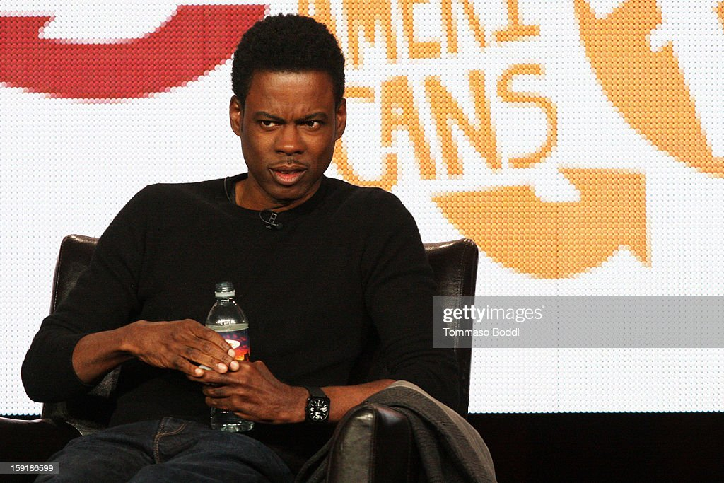 Executive producer Chris Rock of the television show 'Totally Biased attends the TCA 2013 Winter Press Tour - FX panels held at The Langham Huntington Hotel and Spa on January 9, 2013 in Pasadena, California.