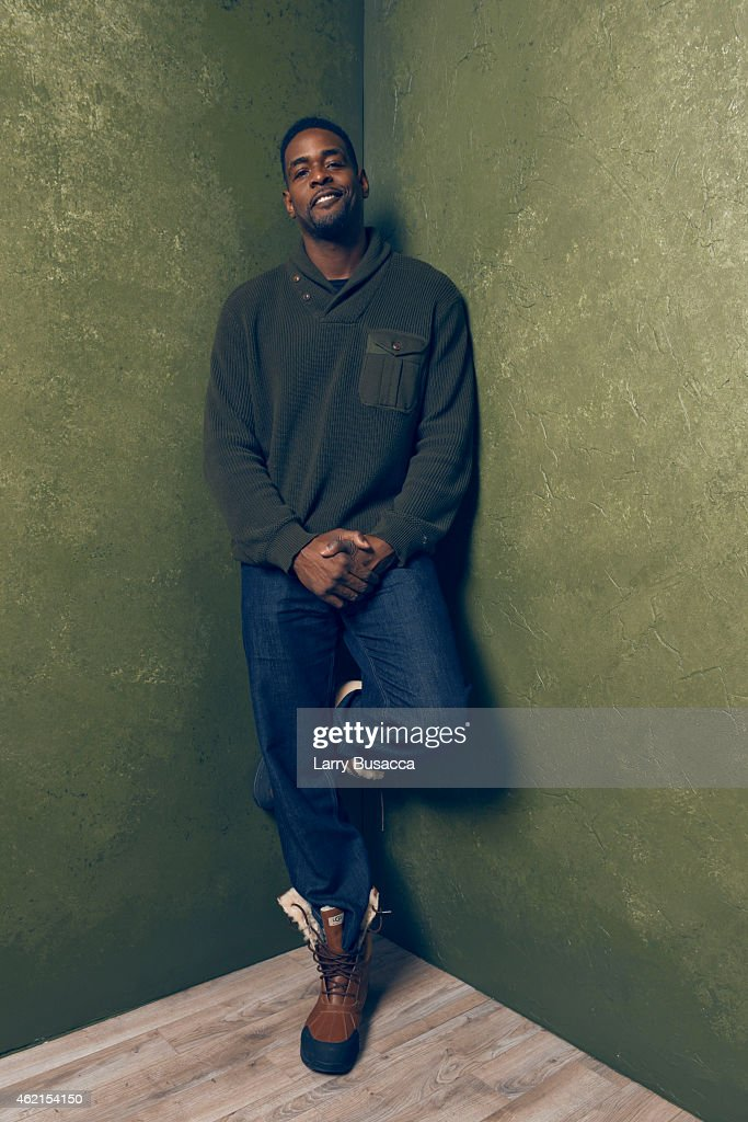 Executive producer <a gi-track='captionPersonalityLinkClicked' href=/galleries/search?phrase=Chris+Webber&family=editorial&specificpeople=201510 ng-click='$event.stopPropagation()'>Chris Webber</a> of 'Unexpected' poses for a portrait at the Village at the Lift Presented by McDonald's McCafe during the 2015 Sundance Film Festival on January 25, 2015 in Park City, Utah.
