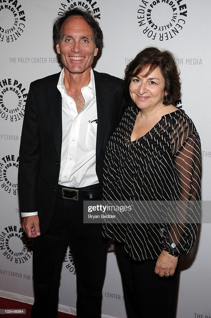 Executive Producer Christopher Goutman and writer Jean Passanante attends a farewell to cast of 'As The World Turns' at The Paley Center for Media on August 18, 2010 in New York City.