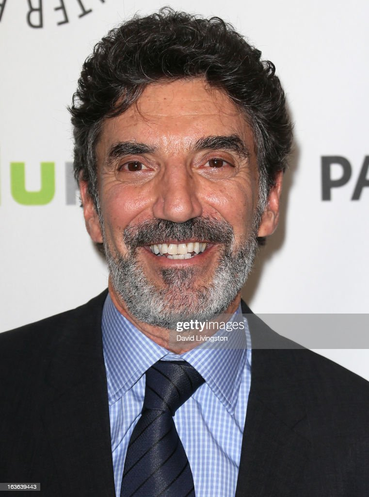 Executive producer <a gi-track='captionPersonalityLinkClicked' href=/galleries/search?phrase=Chuck+Lorre&family=editorial&specificpeople=2307242 ng-click='$event.stopPropagation()'>Chuck Lorre</a> attends The Paley Center For Media's PaleyFest 2013 honoring 'The Big Bang Theory' at the Saban Theatre on March 13, 2013 in Beverly Hills, California.