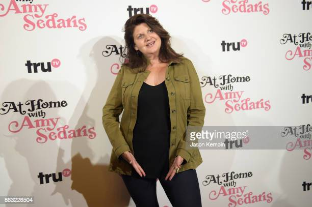 """Executive producer Cindy Caponera attends the premiere screening and party for truTV's new comedy series """"At Home with Amy Sedaris"""" at The Bowery..."""