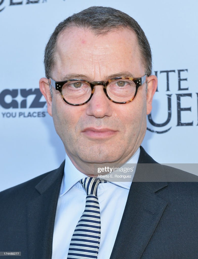 Executive producer Colin Callender lattends The Brittish Consulate'a toast of the U.S. launch of the Starz original series 'The White Queen' on July 25, 2013 in Los Angeles, California.