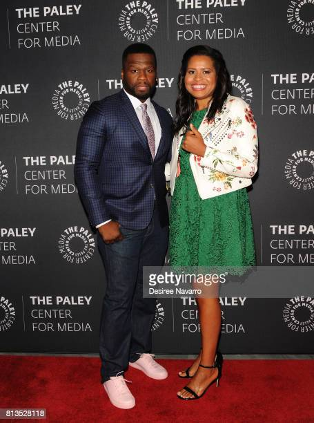 Executive producer Curtis '50 Cent' Jackson and creator Courtney A Kemp attend PaleyLive NY Presents An Evening with the Cast and Creative Team of...