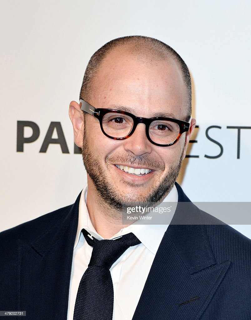 Executive producer <a gi-track='captionPersonalityLinkClicked' href=/galleries/search?phrase=Damon+Lindelof&family=editorial&specificpeople=582642 ng-click='$event.stopPropagation()'>Damon Lindelof</a> arrives at The Paley Center Media's PaleyFest 2014 Honoring 'Lost' 10th Anniversary Reunion at the Dolby Theatre on March 16, 2014 in Los Angeles, California.