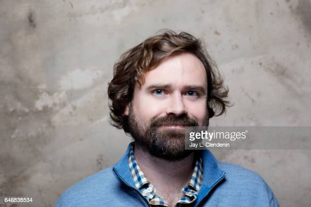 Executive Producer Dan Marshall from the television show 'Playdates' is photographed at the 2017 Sundance Film Festival for Los Angeles Times on...