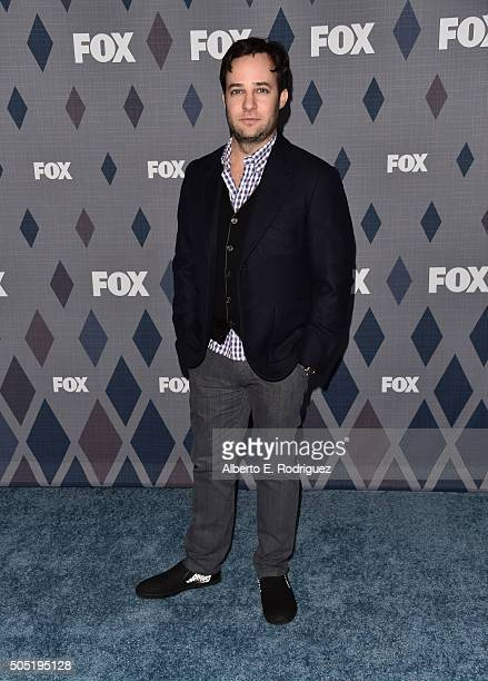 Executive producer Danny Strong attends the FOX Winter TCA 2016 AllStar Party at The Langham Huntington Hotel and Spa on January 15 2016 in Pasadena...