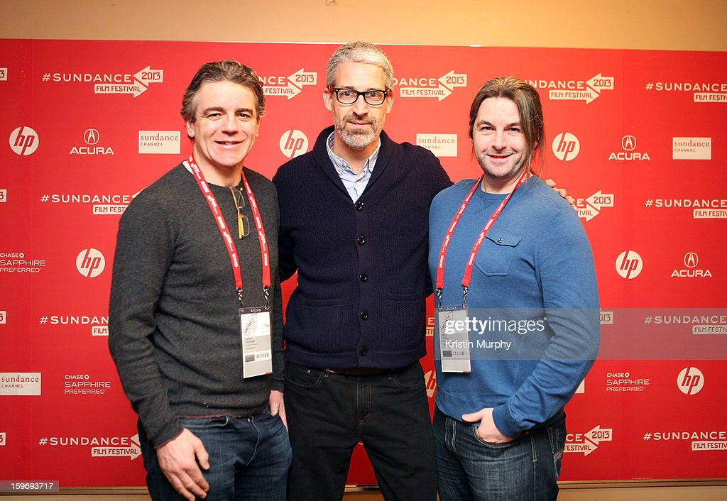 Executive producer Darrell Kavanagh, screenwriter Mark Monroe and associate producer David Torpey attend 'The Summit' Premiere at Egyptian Theatre on January 18, 2013 in Park City, Utah.