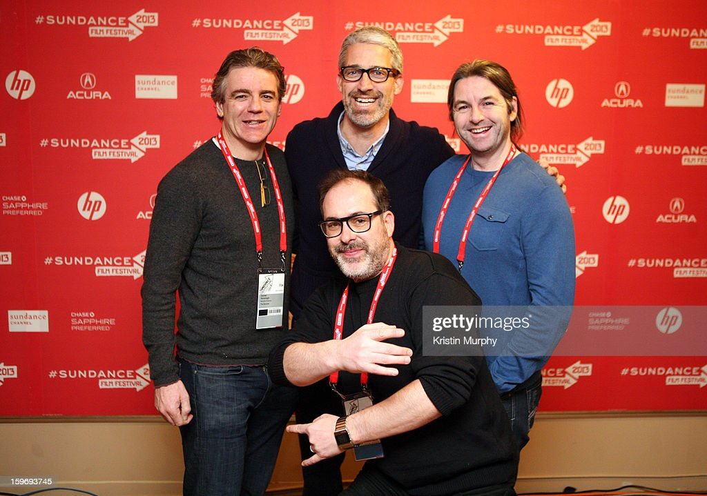 Executive producer Darrell Kavanagh, screenwriter Mark Monroe, associate producer David Torpey and director Nick Ryan (bottom) attend 'The Summit' Premiere at Egyptian Theatre on January 18, 2013 in Park City, Utah.