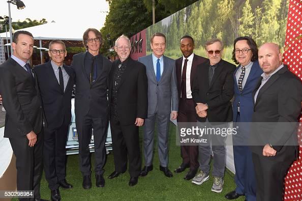 Executive Producer Darryl Frank president HBO Programming Michael Lombardo director/executive producer Jay Roach writer/executive producer Robert...