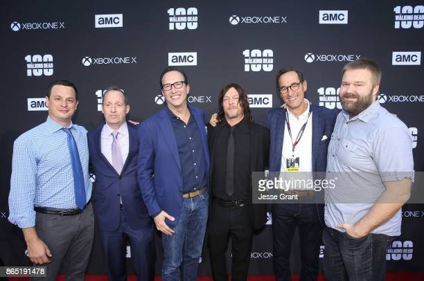 Executive Producer Dave Alpert COO AMC Networks Ed Carroll President General Manager AMC SundanceTV AMC Studios Charlie Collier actor Norman Reedus...