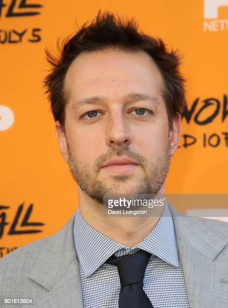 Executive producer Dave Andron attends the premiere of FX's 'Snowfall' at The Theatre at Ace Hotel on June 26 2017 in Los Angeles California