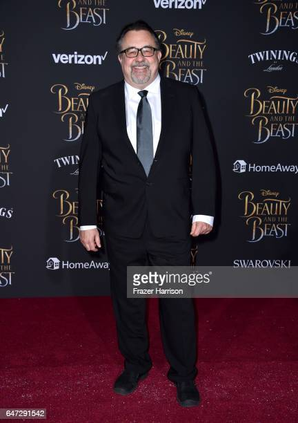 Executive producer Don Hahn attends Disney's 'Beauty and the Beast' premiere at El Capitan Theatre on March 2 2017 in Los Angeles California