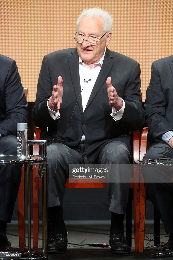 Executive producer Don Mischer speaks onstage at the 'The 66th Primetime Emmy Awards' panel during the NBCUniversal portion of the 2014 Summer Television Critics Association at The Beverly Hilton Hotel on July 13, 2014 in Beverly Hills, California.