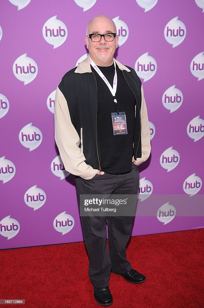 Executive Producer Duane Capizzi attends the premiere of Hub TV Network's 'Transformer's Prime Beast Hunters' at The Globe Theatre at Universal Studios on March 14, 2013 in Universal City, California.