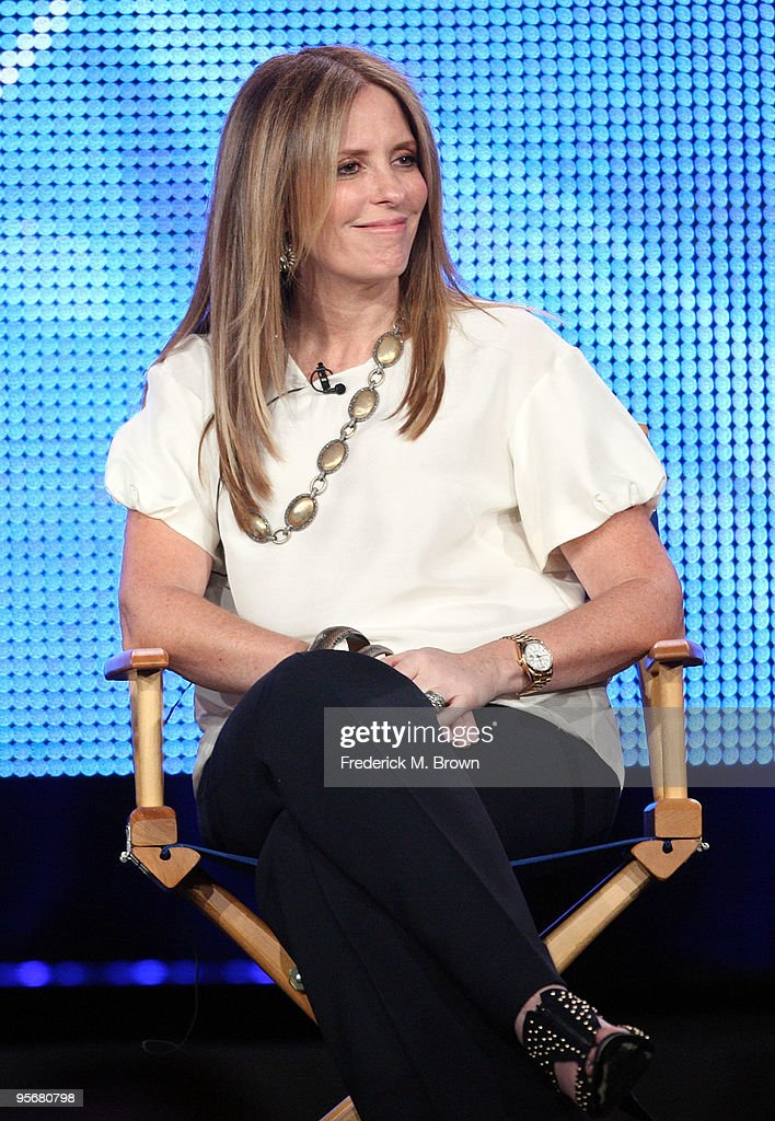 Executive Producer Ellen Rakieten speaks onstage for NBC's television show 'The Marriage Ref' during the NBC Universal 2010 Winter TCA Tour day 2 at the Langham Hotel on January 10, 2010 in Pasadena, California.