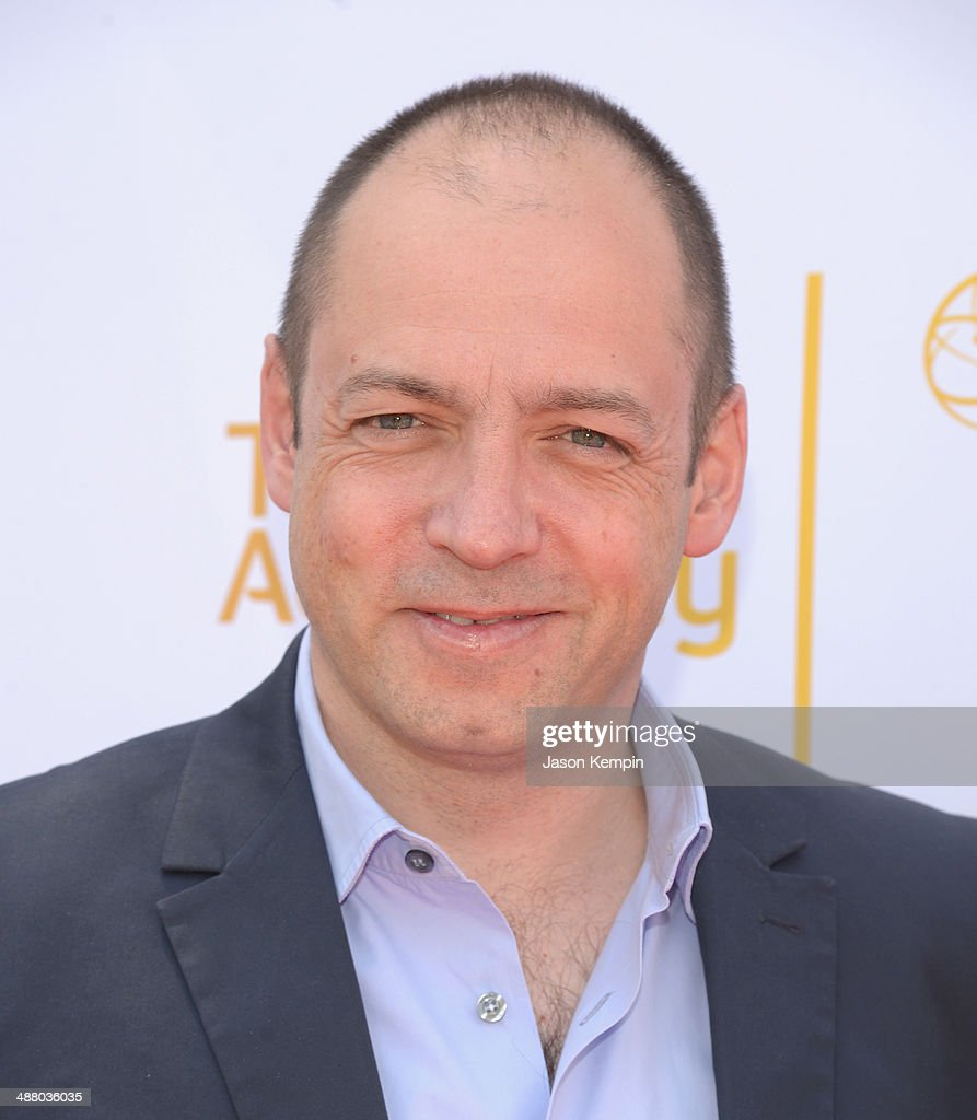 Executive Producer <a gi-track='captionPersonalityLinkClicked' href=/galleries/search?phrase=Gareth+Neame&family=editorial&specificpeople=5939160 ng-click='$event.stopPropagation()'>Gareth Neame</a> attends The Television Academy Presents An Afternoon with 'Downton Abbey' at Paramount Studios on May 3, 2014 in Hollywood, California.