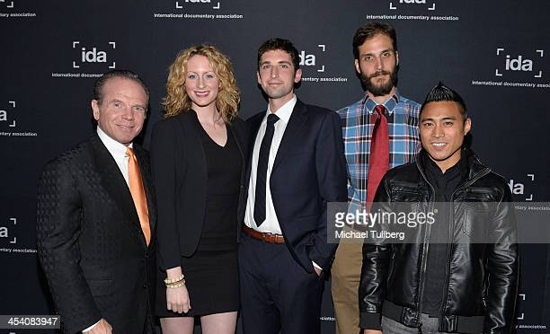 Executive Producer Gary Newsom Producer Annie Bush Director Russell Bush and cinematographers Drew Xanthopoulos and PJ Raval attend the International...