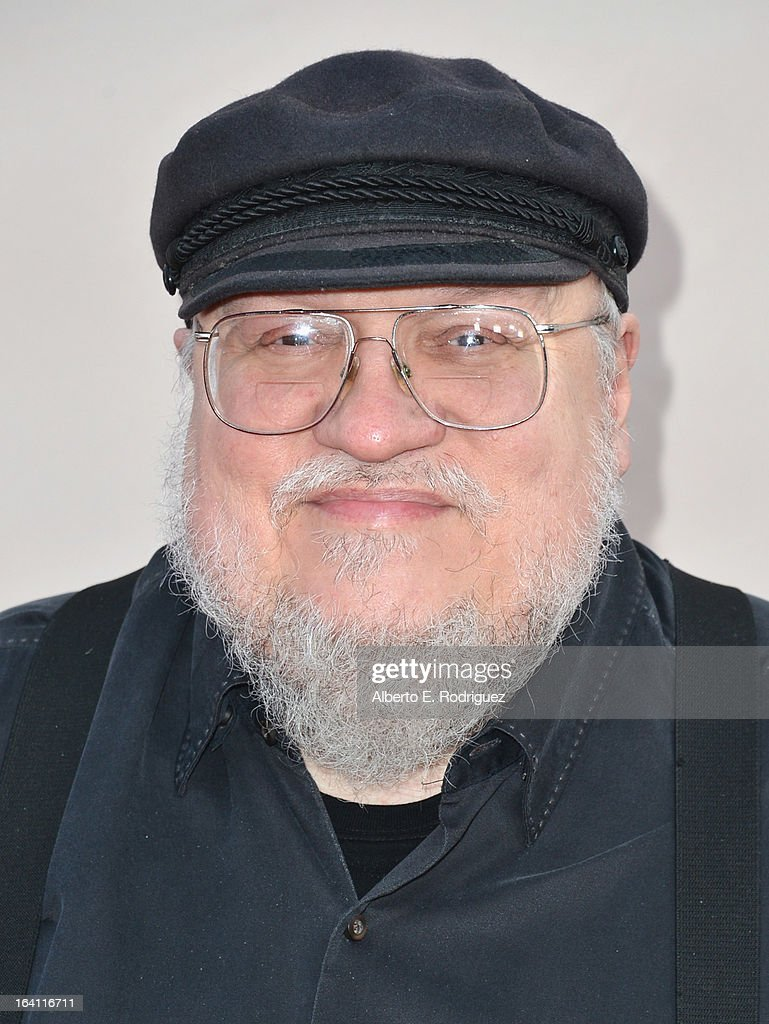 Executive Producer <a gi-track='captionPersonalityLinkClicked' href=/galleries/search?phrase=George+R.R.+Martin&family=editorial&specificpeople=7426691 ng-click='$event.stopPropagation()'>George R.R. Martin</a> attends The Academy of Television Arts & Sciences' Presents An Evening With 'Game of Thrones' at TCL Chinese Theatre on March 19, 2013 in Hollywood, California.