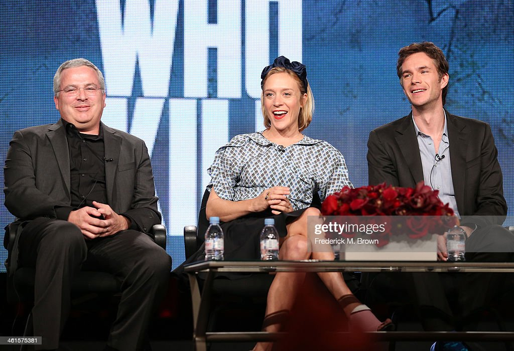 Executive Producer Glen Morgan, actors Chloe Sevigny and James D'Arcy and Executive Producer Brian Grazer speak onstage during the 'Lifetime - Those Who Kill' panel discussion at the Lifetime/A&E Network' portion of the 2014 Winter Television Critics Association tour at the Langham Hotel on January 9, 2014 in Pasadena, California.