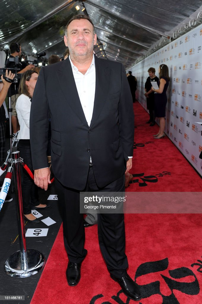 Executive Producer <a gi-track='captionPersonalityLinkClicked' href=/galleries/search?phrase=Graham+King&family=editorial&specificpeople=2547930 ng-click='$event.stopPropagation()'>Graham King</a> attends the 'Argo' premiere during the 2012 Toronto International Film Festival at Roy Thomson Hall on September 7, 2012 in Toronto, Canada.
