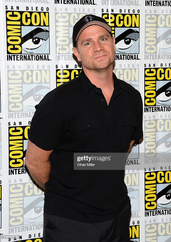 Executive Producer Greg Plagemen attends the 'Person of Interest' press line during Comic-Con International 2013 at the Hilton San Diego Bayfront Hotel on July 20, 2013 in San Diego, California.